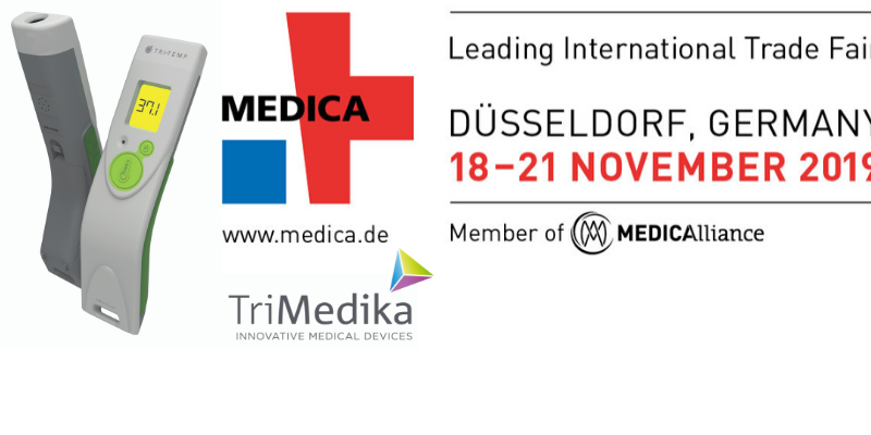 TriTemp thermometer at medica 2019