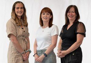 Julie, Roisin and Jenny - USA Press Release