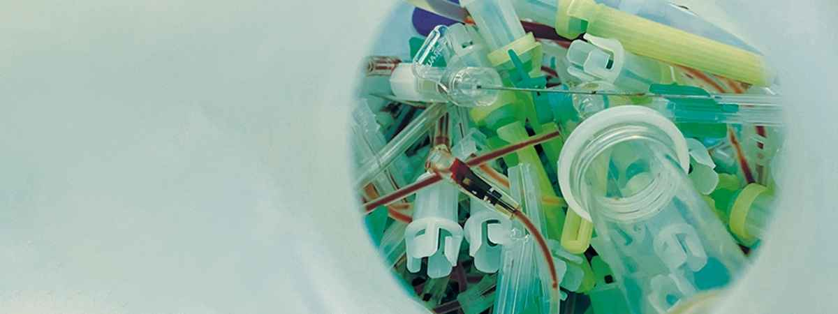 Plastic Waste in hospitals